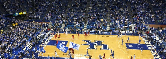 Rupp Arena Rafters Getting Painted Blue: 430 W Vine St