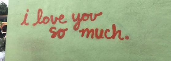 I Love You So Much Graffiti