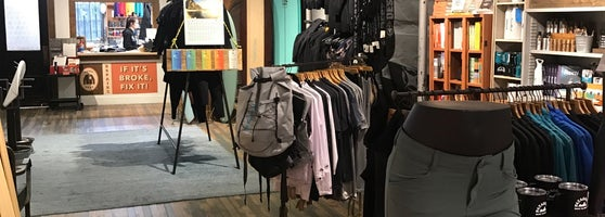 b83bff1d8 Surfing-focused Patagonia store. They have other Patagonia staples as well