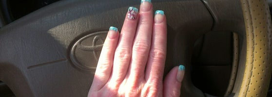 Beautiful gel nails and awesome nail art!