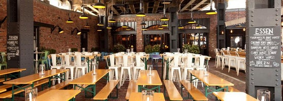 The Biergarten At The Standard Meatpacking District New York