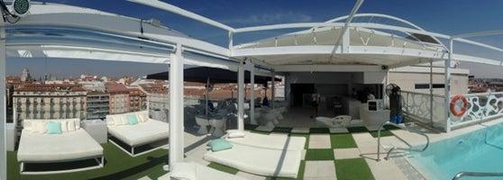 Terraza Room Mate óscar Bar Dell Hotel In Madrid