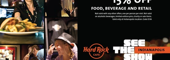 hard rock cafe indianapolis  now closed  - downtown indianapolis