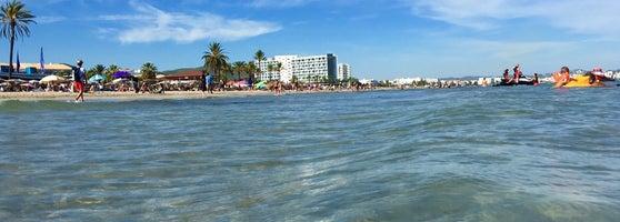 Platja d'En Bossa - Beach in Ibiza