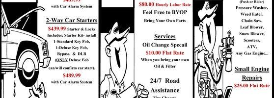 Bring Your Own Parts Auto Repair >> T A Auto Repair Automotive Shop In Lawton