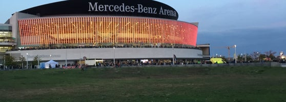 mercedes-benz arena - konzerthalle in friedrichshain
