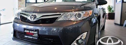 Jerry Durant Toyota >> Jerry Durant Toyota Granbury Tx