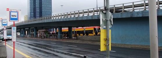 Przystanek Simple Express Dwcentralny 04 śródmieście Północne 4