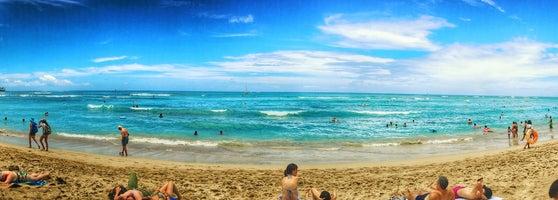 Waikīkī Beach Waikiki Honolulu Hi