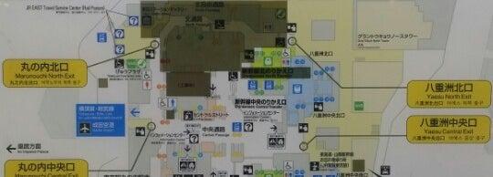 Tokyo Vincity Subway Map.東京駅 Tokyo Sta 丸の内 387 Tips