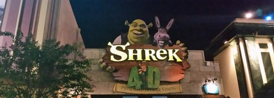 Shrek 4 D Theme Park Ride Attraction In Orlando