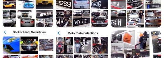 Auto Plate Division Now Closed Automotive Shop In Petaling Jaya