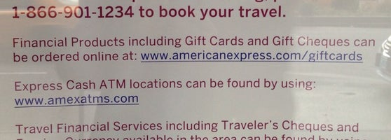 American Express Travel Services Midtown East 4 Tips