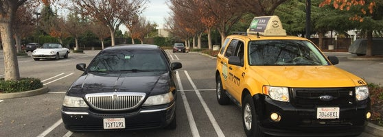 Yellow Taxi Cab California - Taxi in Mountain View