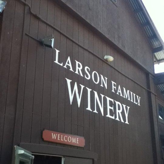 Das Foto wurde bei Larson Family Winery von Carlos M. am 9/4/2012 aufgenommen