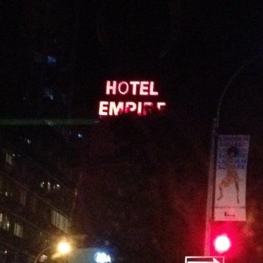 Снимок сделан в The Empire Hotel пользователем Ali S. 8/31/2012