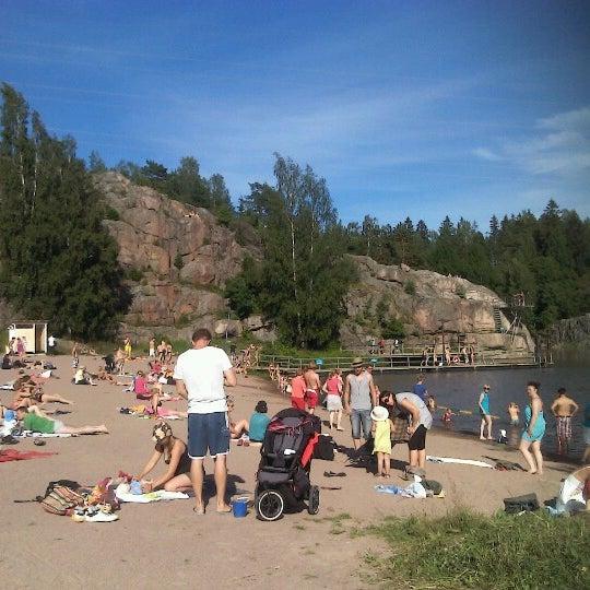 Das Foto wurde bei Pikkukosken uimaranta von Ruby L. am 7/4/2012 aufgenommen