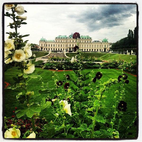 8/21/2012 tarihinde kOoLiNuSziyaretçi tarafından Oberes Belvedere'de çekilen fotoğraf