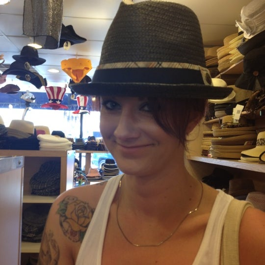 Photo taken at Hats Unlimited by Wednesday on 6 28 2012 09b9f0309f22