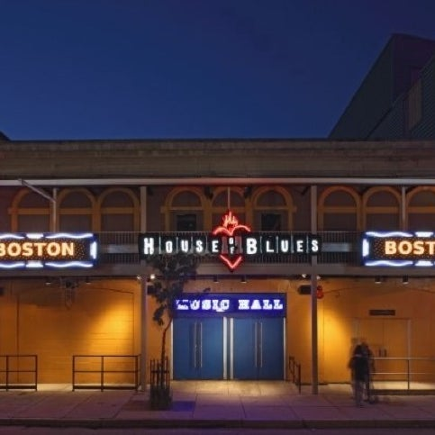 Foto diambil di House of Blues oleh Thiago F. pada 6/10/2012