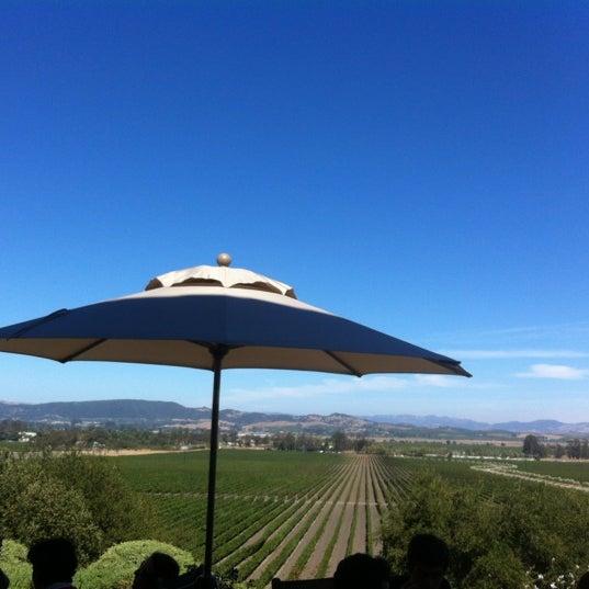 Das Foto wurde bei Gloria Ferrer Caves & Vineyards von Brandon B. am 9/8/2012 aufgenommen