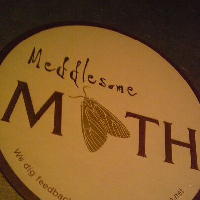 Photo taken at Meddlesome Moth by Paul K. on 4/20/2012