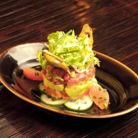 Try Spicy Tuna Tartar with Avocado and Pink Grapefruit