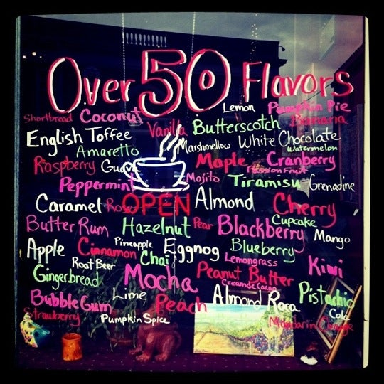 The best coffee in town...and over 50 flavors to boot! Make Silverbird part of your daily routine!