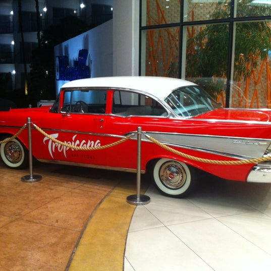 Снимок сделан в Tropicana Las Vegas пользователем Lucas M. 8/2/2012
