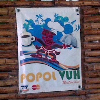 Снимок сделан в Popol Vuh Restaurante пользователем Tonninho R. 1/13/2012