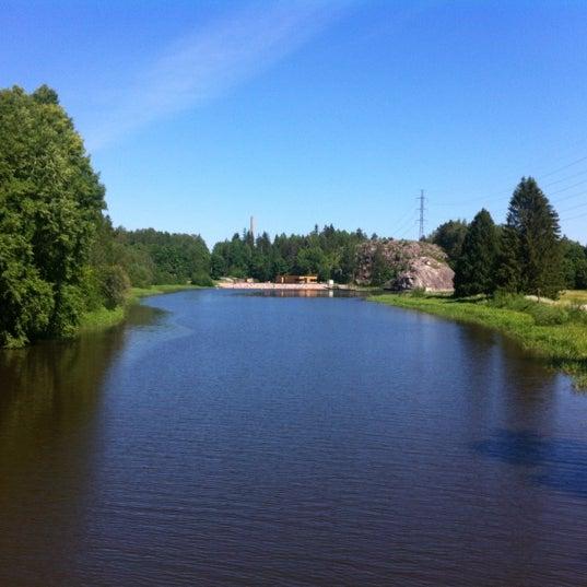 Das Foto wurde bei Pikkukosken uimaranta von Sanna I. am 6/16/2012 aufgenommen