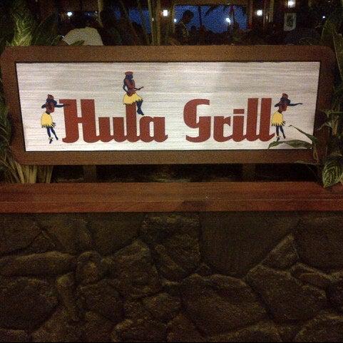8/24/2012 tarihinde Elena N.ziyaretçi tarafından Hula Grill'de çekilen fotoğraf