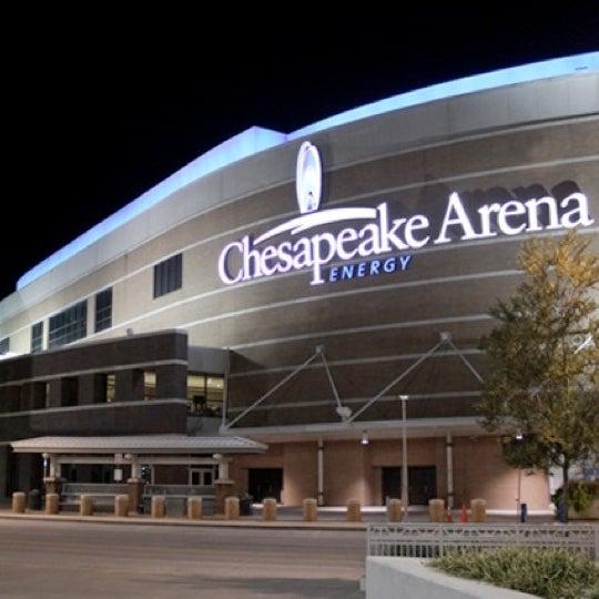 Das Foto wurde bei Chesapeake Energy Arena von Suzanne E J. am 6/17/2012 aufgenommen