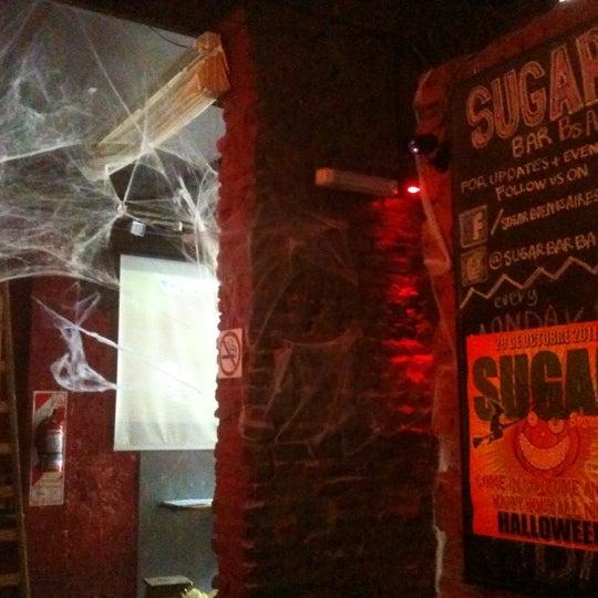 10/29/2011 tarihinde Martin F.ziyaretçi tarafından Sugar Bar'de çekilen fotoğraf