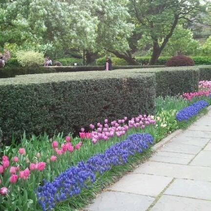 Foto scattata a Conservatory Garden da NYCphotos il 4/15/2012