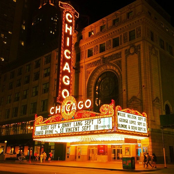 Foto scattata a The Chicago Theatre da aneel . il 8/31/2012