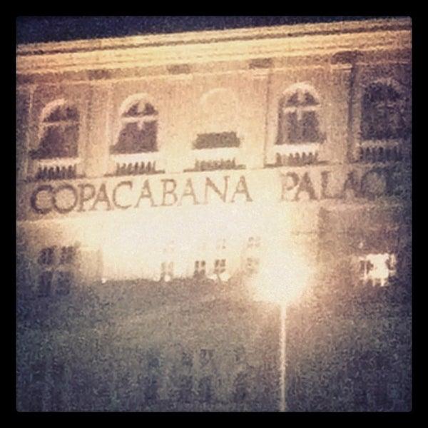 8/16/2012에 Rogerio R.님이 Belmond Copacabana Palace에서 찍은 사진