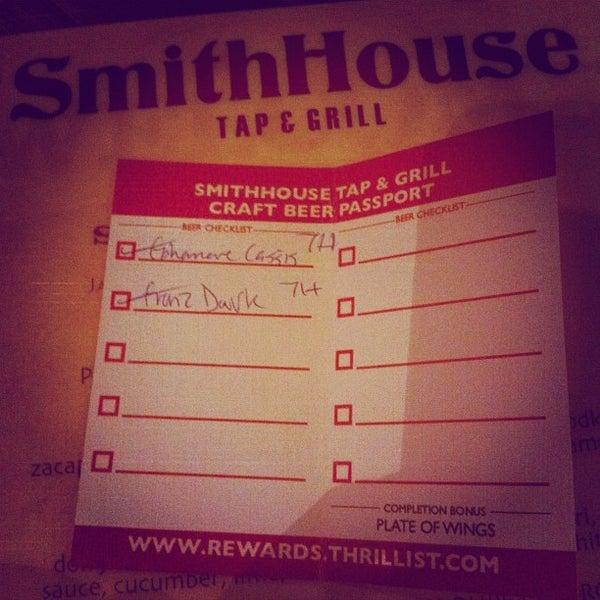 Foto scattata a SmithHouse - BBQ, Burgers, Brews da Miki R. il 4/13/2012