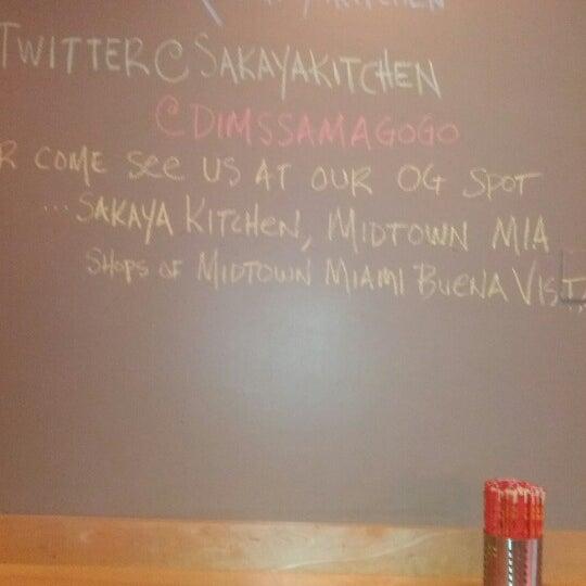 Das Foto wurde bei Sakaya Kitchen von Christopher M. am 10/26/2012 aufgenommen