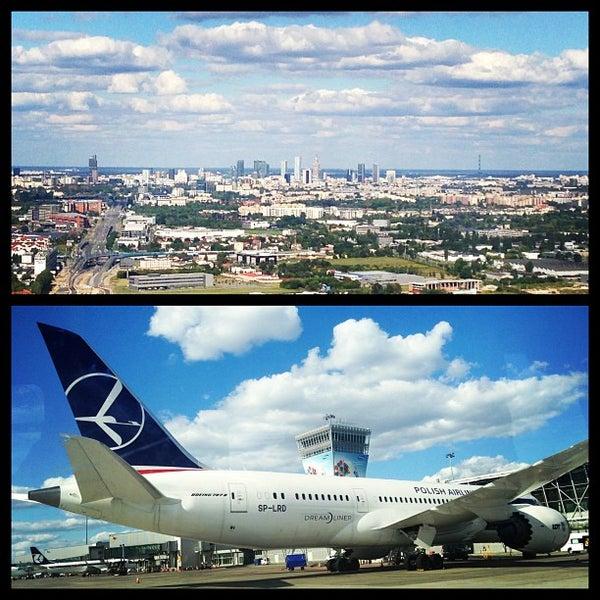 8/25/2013에 Karin님이 바르샤바 쇼팽 공항 (WAW)에서 찍은 사진