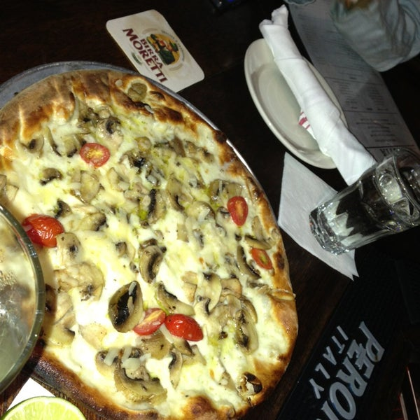 Funghi misti pizza is a must try! Two words: truffle oil