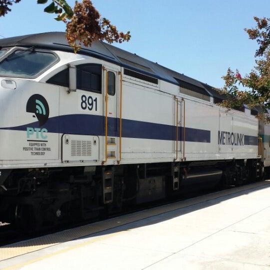 Photos At Metrolink Upland Station Train