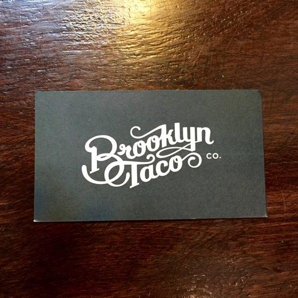 9/20/2014にRCがBrooklyn Taco Companyで撮った写真