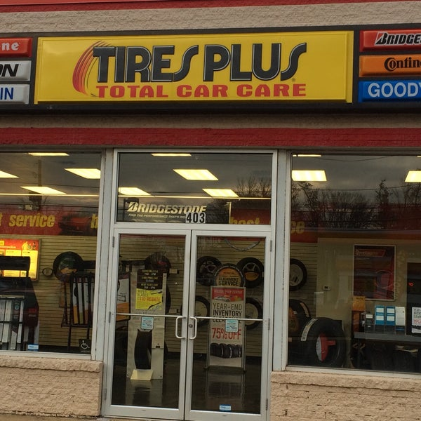Photo Taken At Tires Plus By Helen D On 12 13 2017