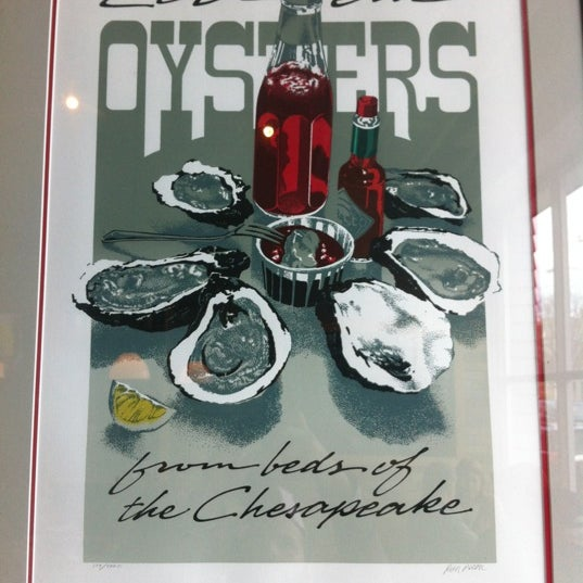 Photo prise au Henlopen City Oyster House par Kevin M. le11/24/2012