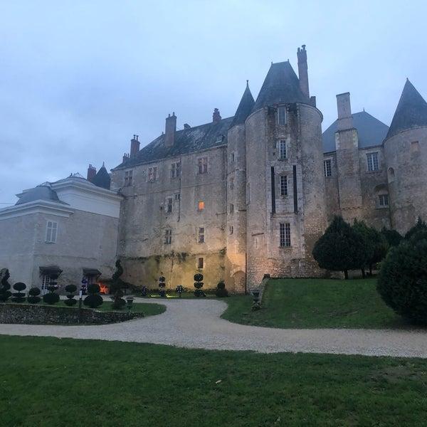 Foto diambil di Château de Meung-sur-Loire oleh Tel A. pada 12/28/2019