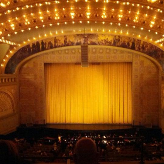 10/27/2012 tarihinde Jason P.ziyaretçi tarafından Auditorium Theatre'de çekilen fotoğraf