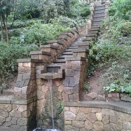 Font Del Gat Park In Parc De Montjuïc