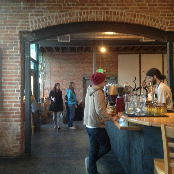 Photo taken at Denver Bicycle Cafe by Tim J. on 1/20/2013