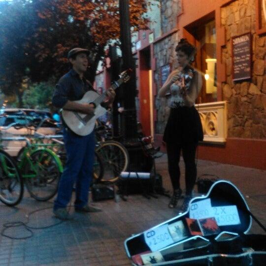 Foto scattata a Paseo Barrio Lastarria da TURISBET il 1/24/2015